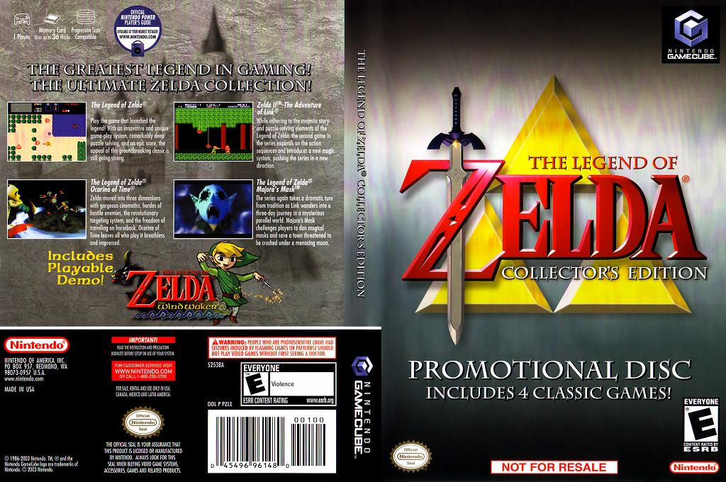 The Legend of Zelda: Collector's Edition Wii coverfullHQ (PZLE01)