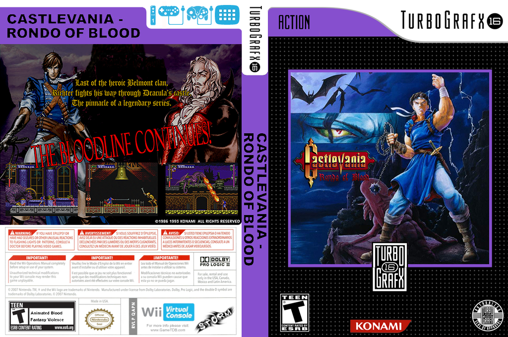 Castlevania Rondo of Blood Wii coverfullHQ (QAPN)