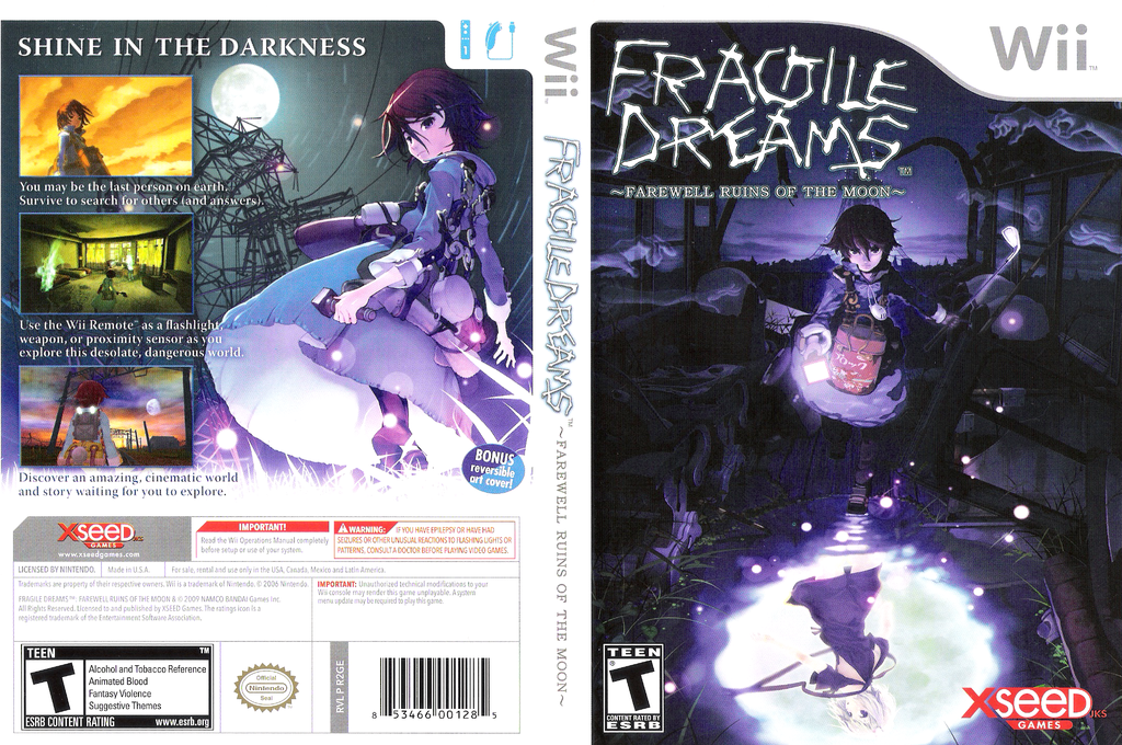 Fragile Dreams: Farewell Ruins of the Moon Wii coverfullHQ (R2GEXJ)