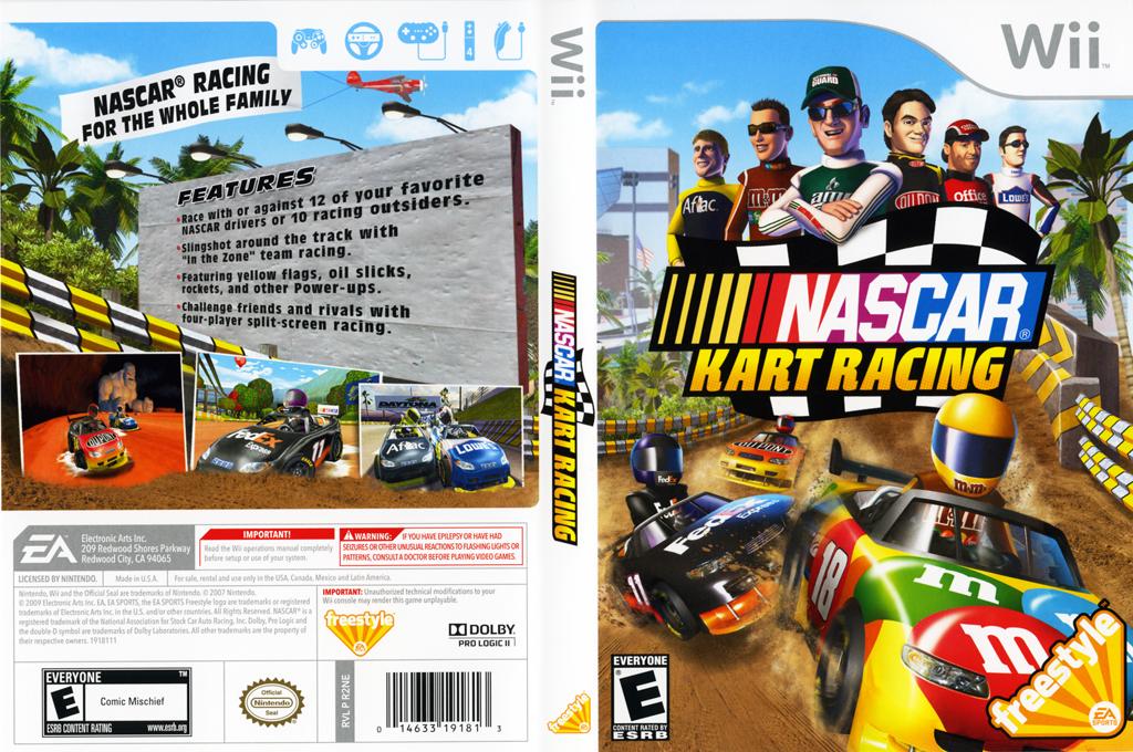 NASCAR Kart Racing Wii coverfullHQ (R2NE69)