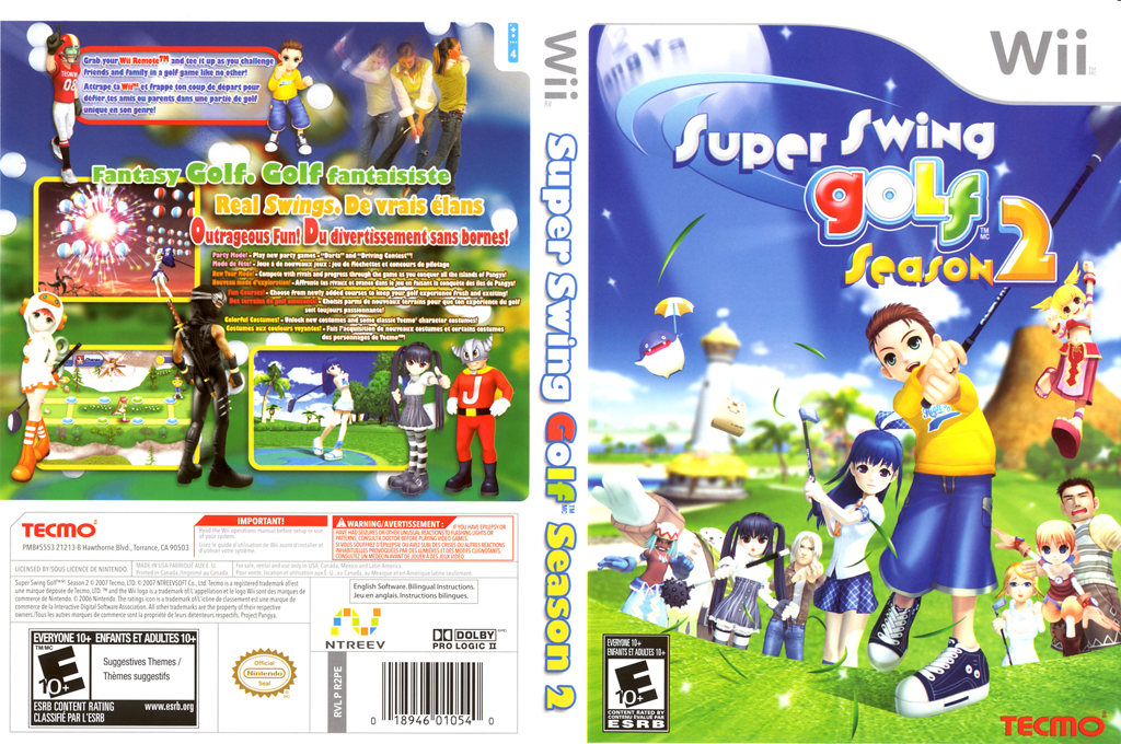 Super Swing Golf Season 2 Wii coverfullHQ (R2PE9B)