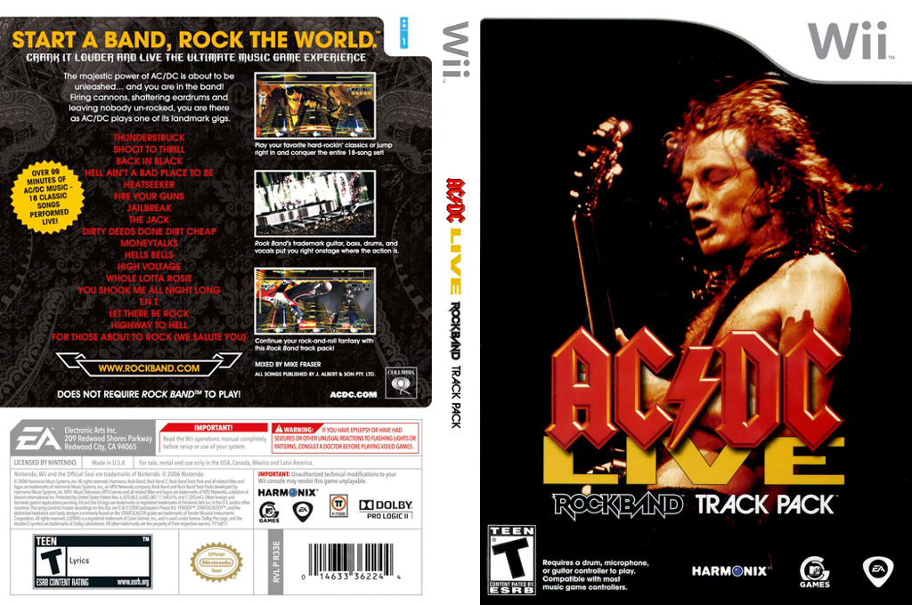 AC/DC Live: Rock Band Track Pack Wii coverfullHQ (R33E69)