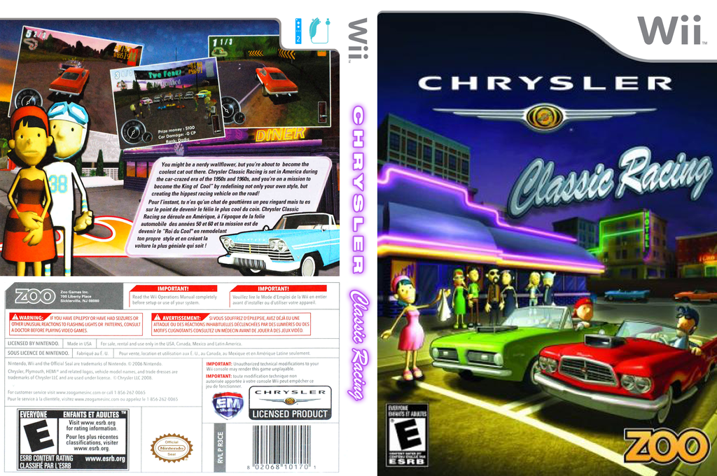 Chrysler Classic Racing Wii coverfullHQ (R3CE20)