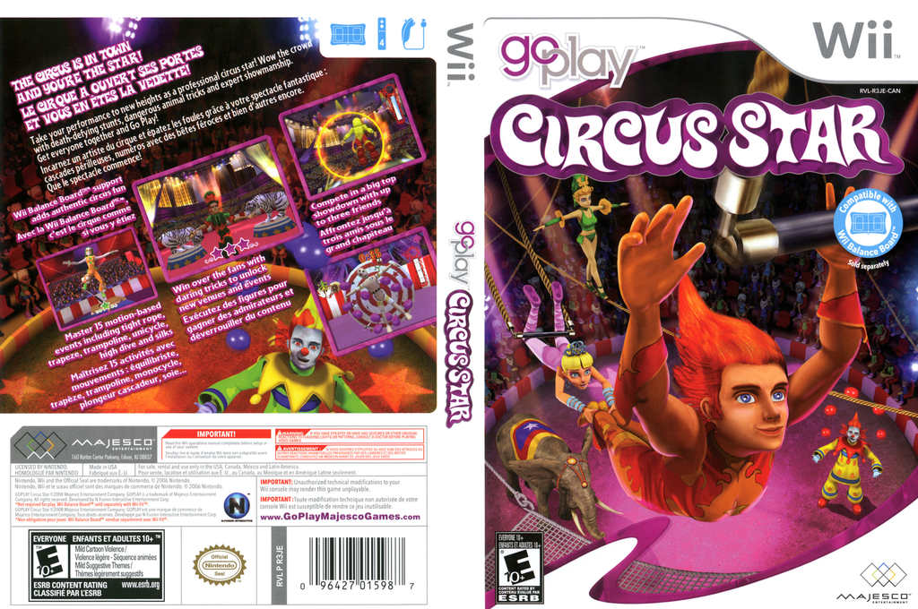 Go Play Circus Star Wii coverfullHQ (R3JE5G)