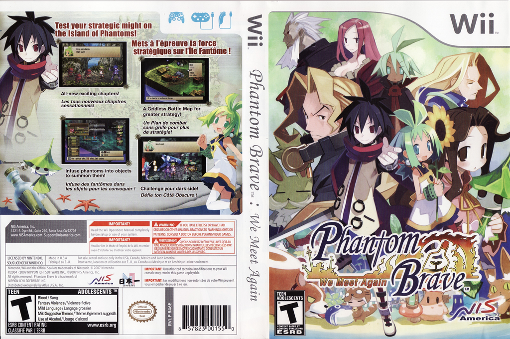 Phantom Brave: We Meet Again Wii coverfullHQ (R46ENS)