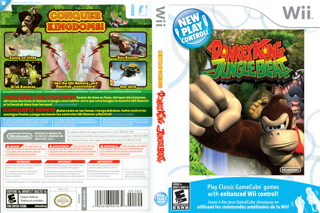 Donkey Kong Jungle Beat Wii coverfullHQ (R49E01)