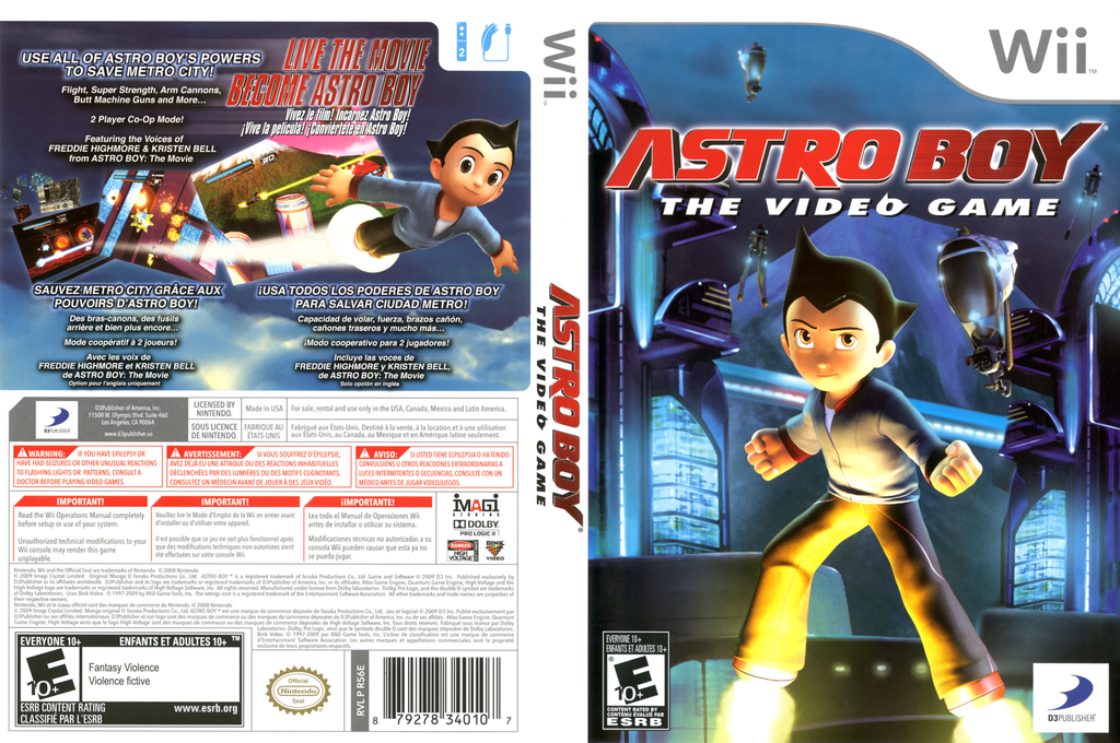Astro Boy: The Video Game Wii coverfullHQ (R56EG9)