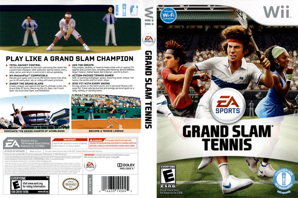 Grand Slam Tennis Wii coverfullHQ (R5TE69)
