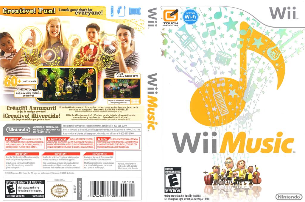 Wii Music Wii coverfullHQ (R64E01)