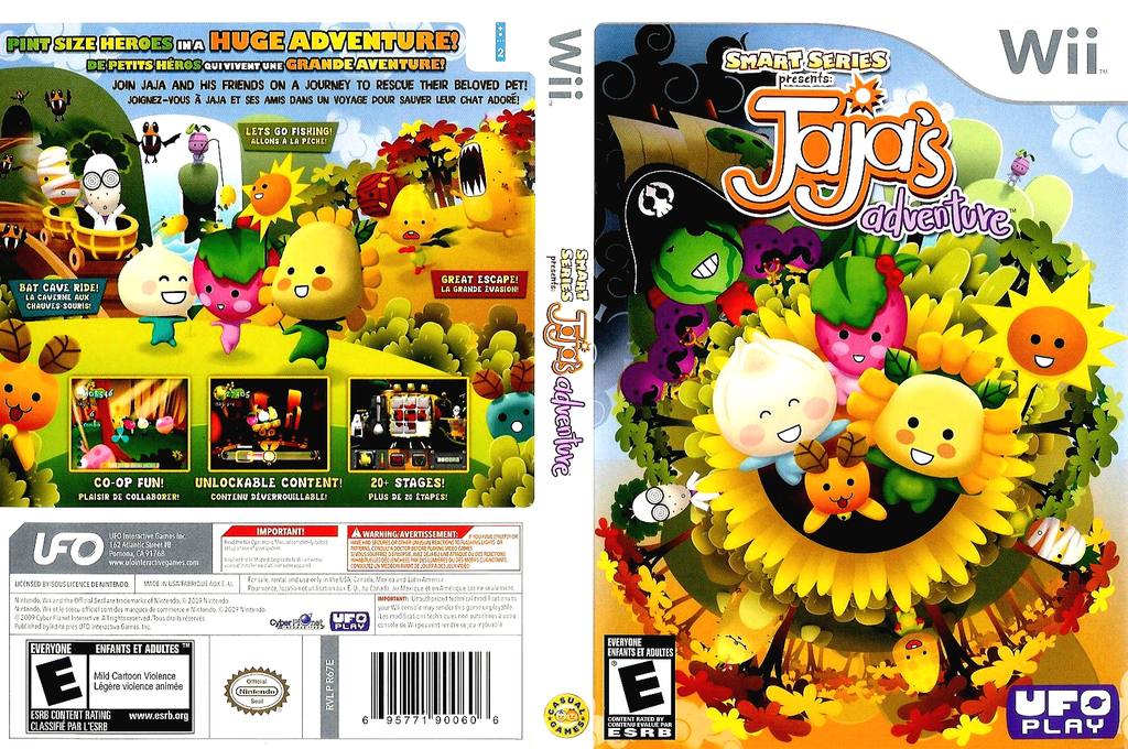 Smart Series Presents: JaJa's Adventure Wii coverfullHQ (R67E6K)