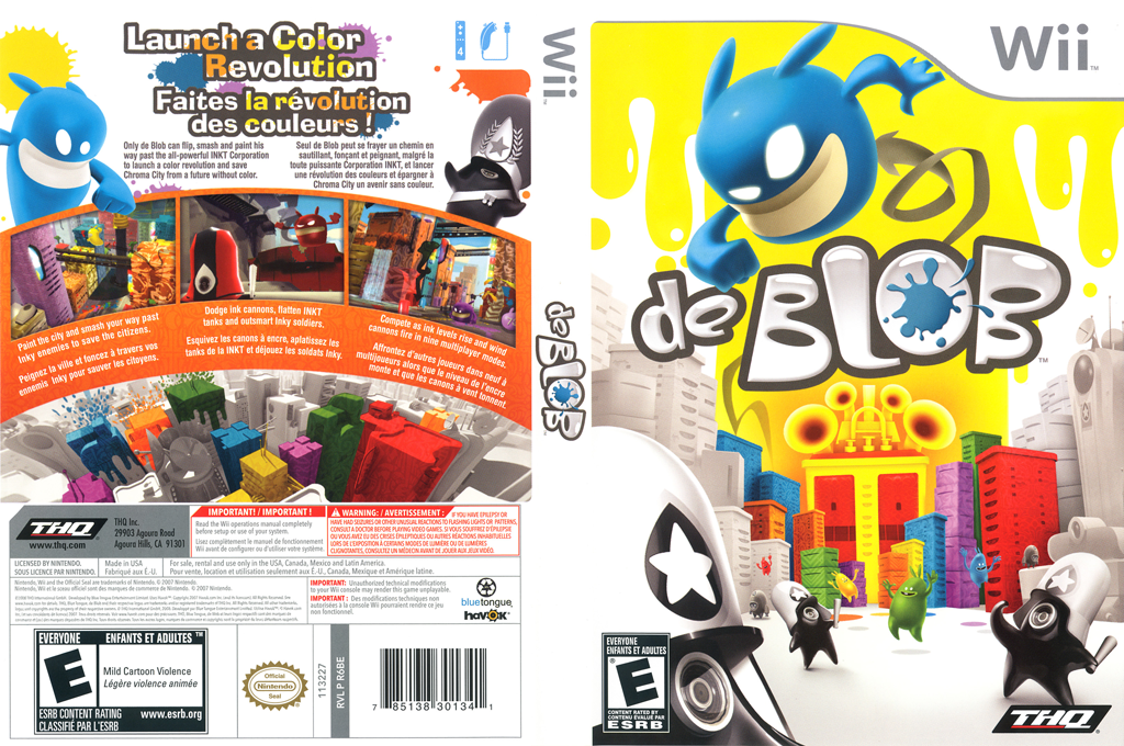 de Blob Wii coverfullHQ (R6BE78)