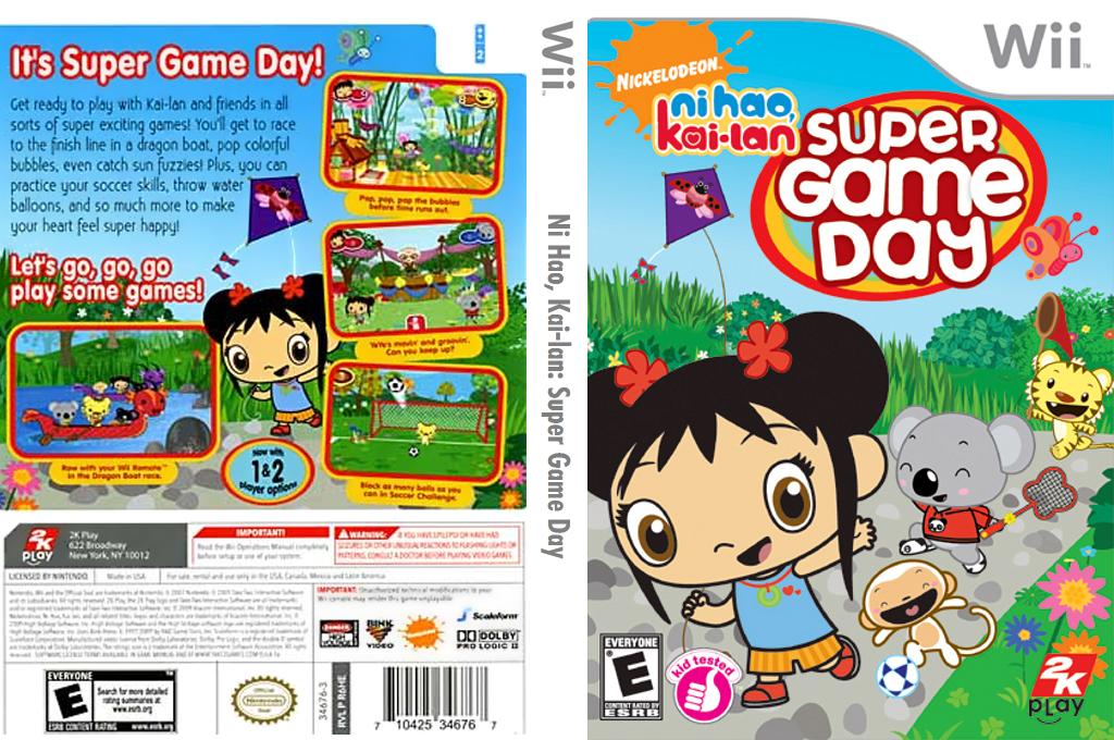 Ni Hao, Kai-lan: Super Game Day Wii coverfullHQ (R6HE54)
