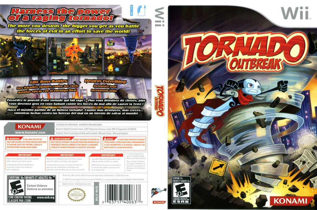 Tornado Outbreak Wii coverfullHQ (R6TEA4)