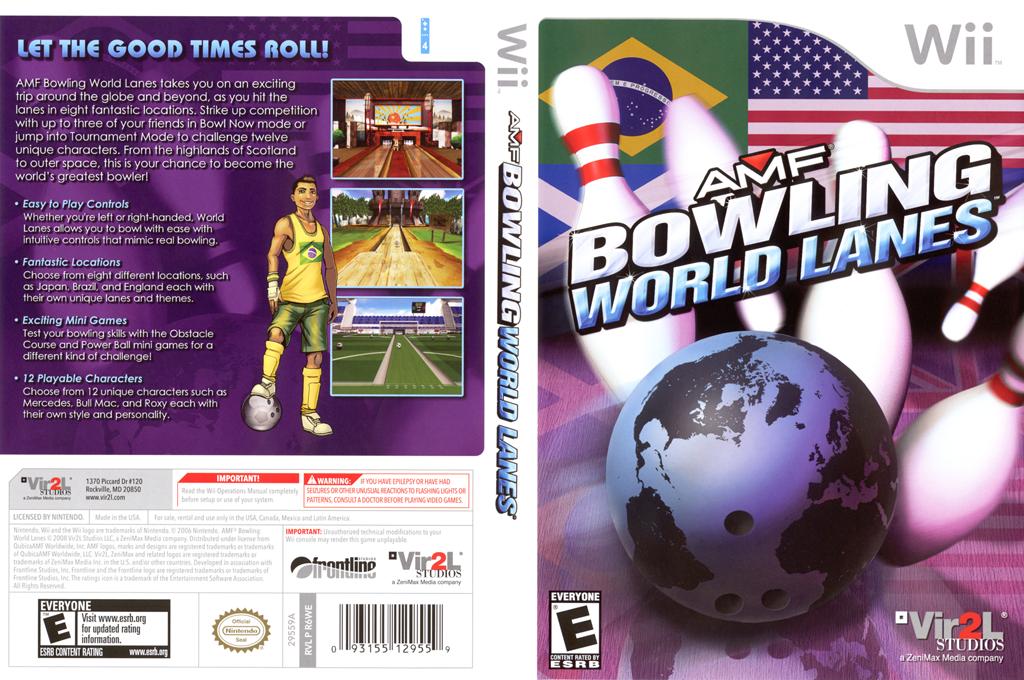AMF Bowling World Lanes Array coverfullHQ (R6WE68)