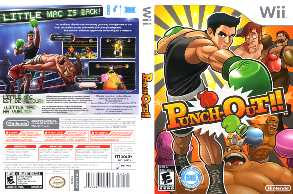 Punch-Out!! Array coverfullHQ (R7PE01)