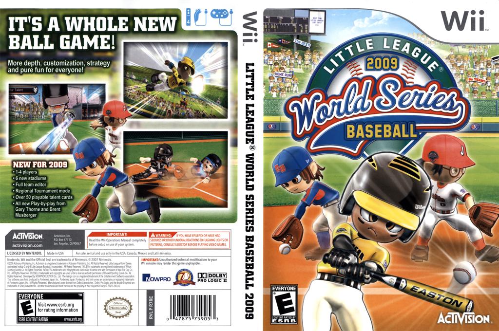 Little League World Series Baseball 2009 Wii coverfullHQ (R7RE52)