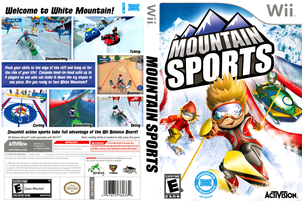 Mountain Sports Wii coverfullHQ (R7WE52)
