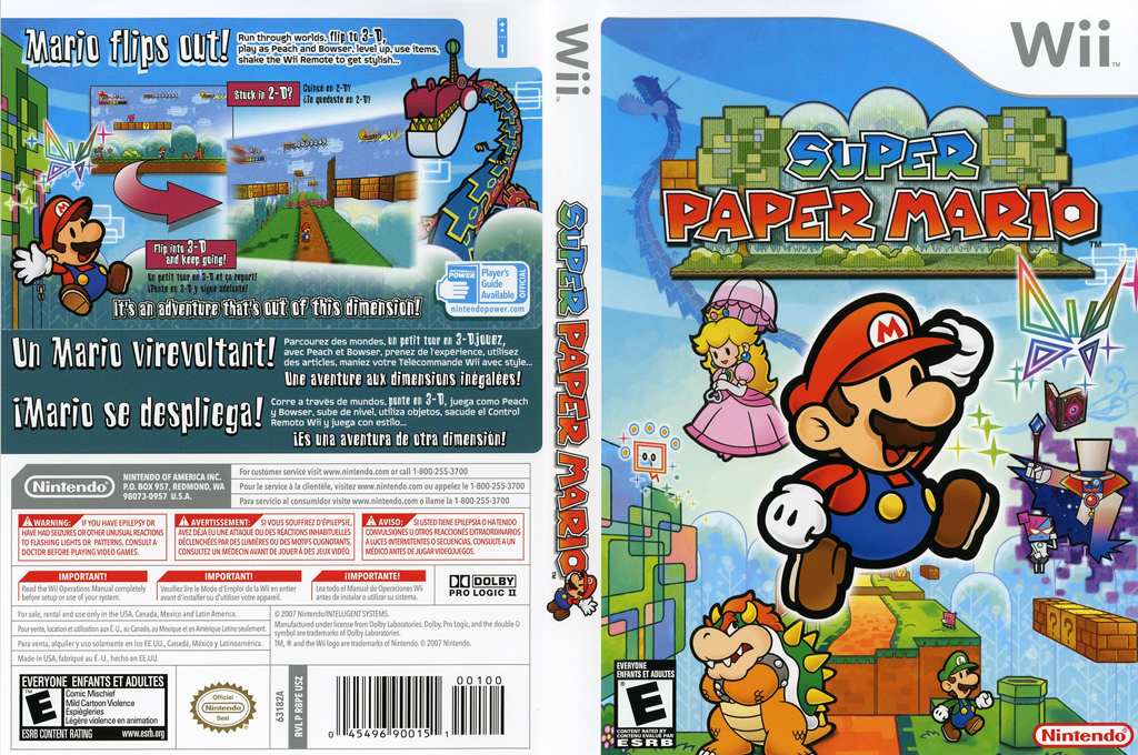 Super Paper Mario Wii coverfullHQ (R8PE01)