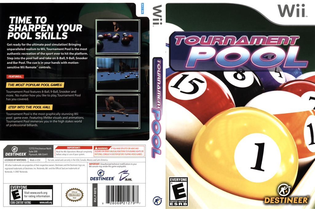 Tournament Pool Wii coverfullHQ (R8TENR)