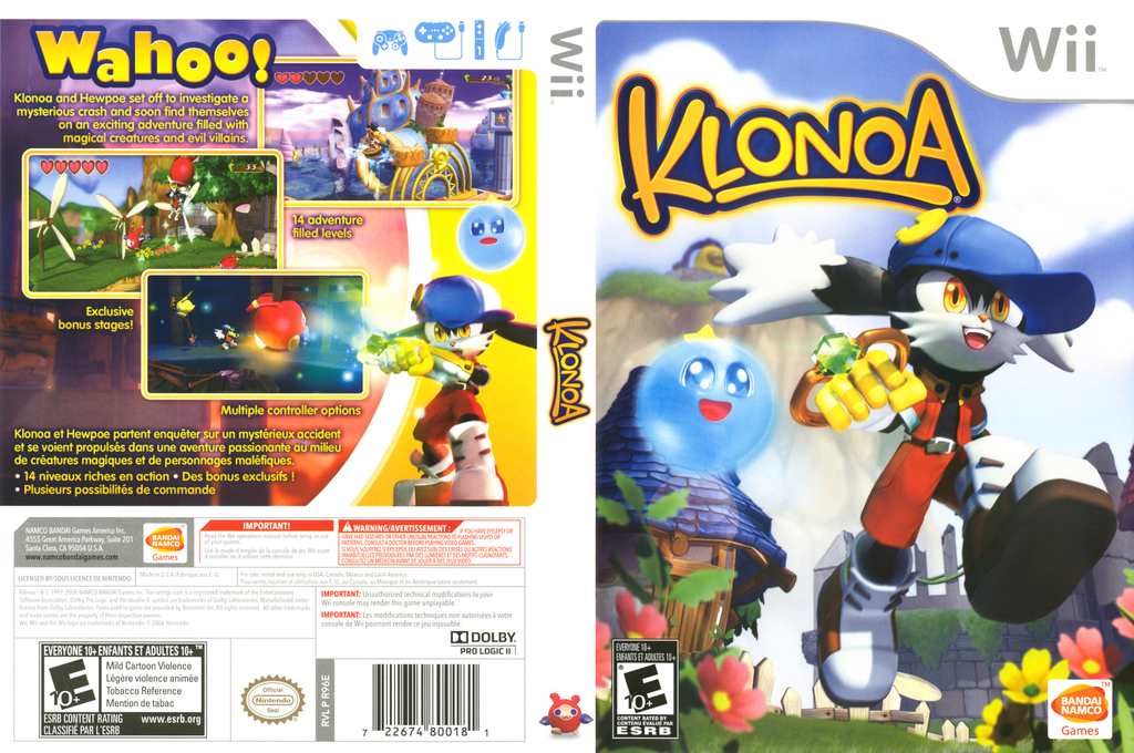 Klonoa Array coverfullHQ (R96EAF)