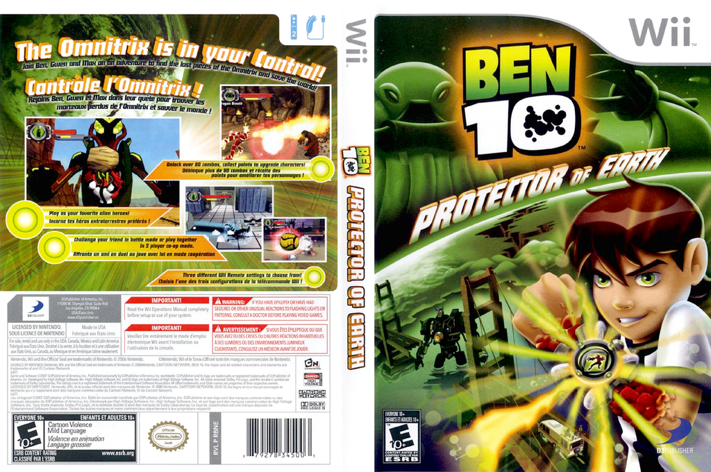 Ben 10: Protector of Earth Array coverfullHQ (RBNEG9)
