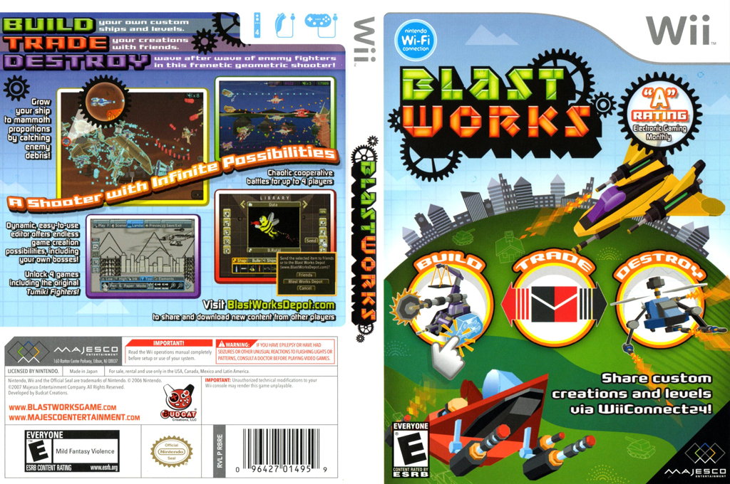 Blast Works: Build, Trade, Destroy Wii coverfullHQ (RBRE5G)
