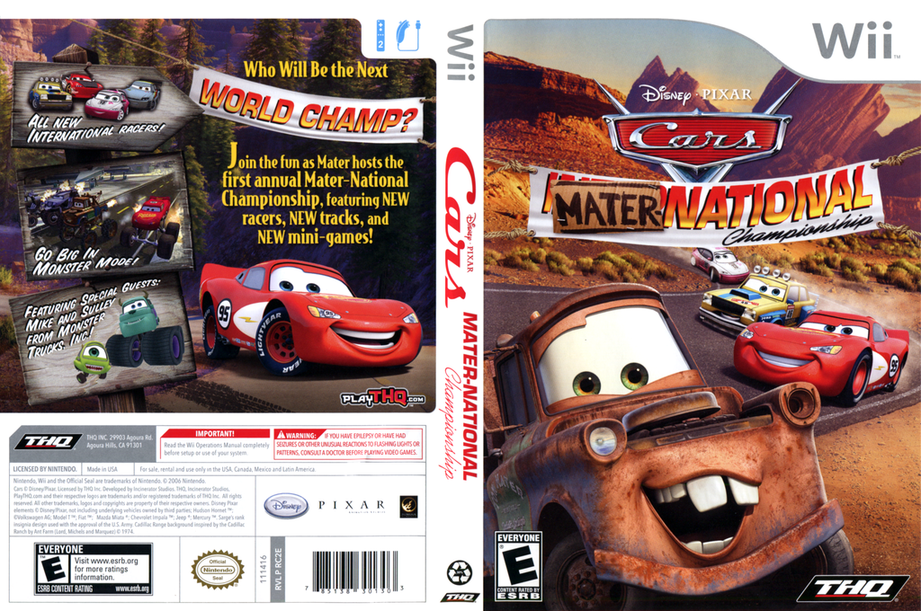 Cars: Mater-National Array coverfullHQ (RC2E78)