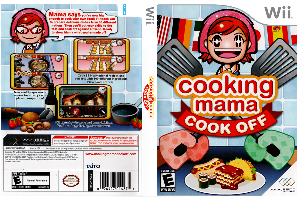 Cooking Mama: Cook Off Wii coverfullHQ (RCCE5G)