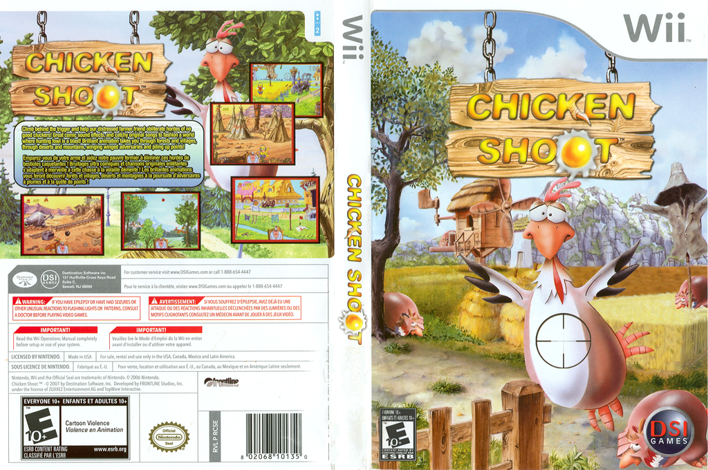 Chicken Shoot Wii coverfullHQ (RCSE20)