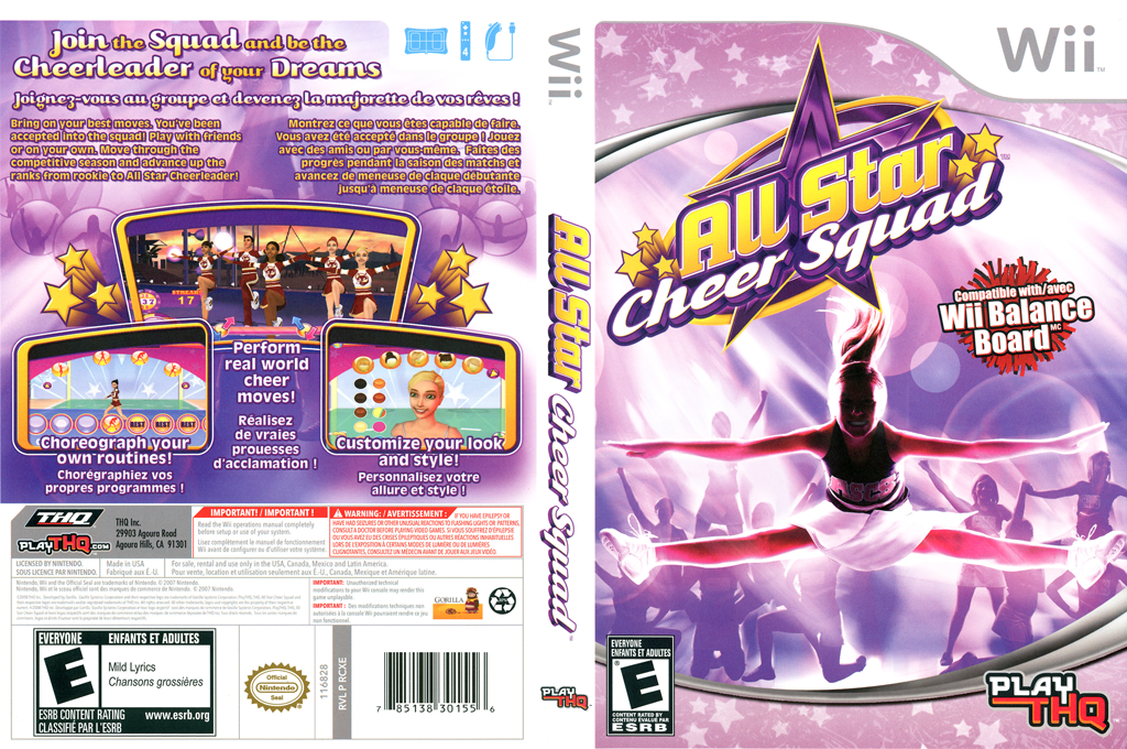 All Star Cheer Squad Wii coverfullHQ (RCXE78)