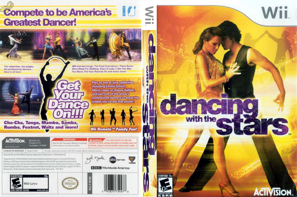 Dancing with the Stars Wii coverfullHQ (RD8E52)