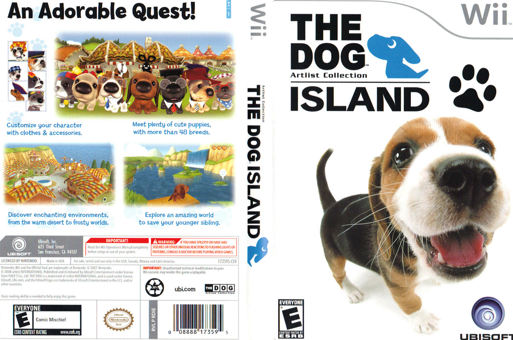 The Dog Island Wii coverfullHQ (RDIE41)