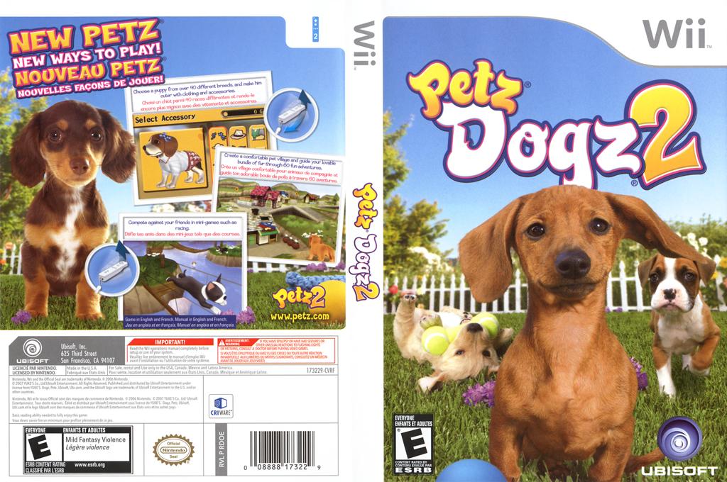 Petz Dogz 2 Wii coverfullHQ (RDOE41)