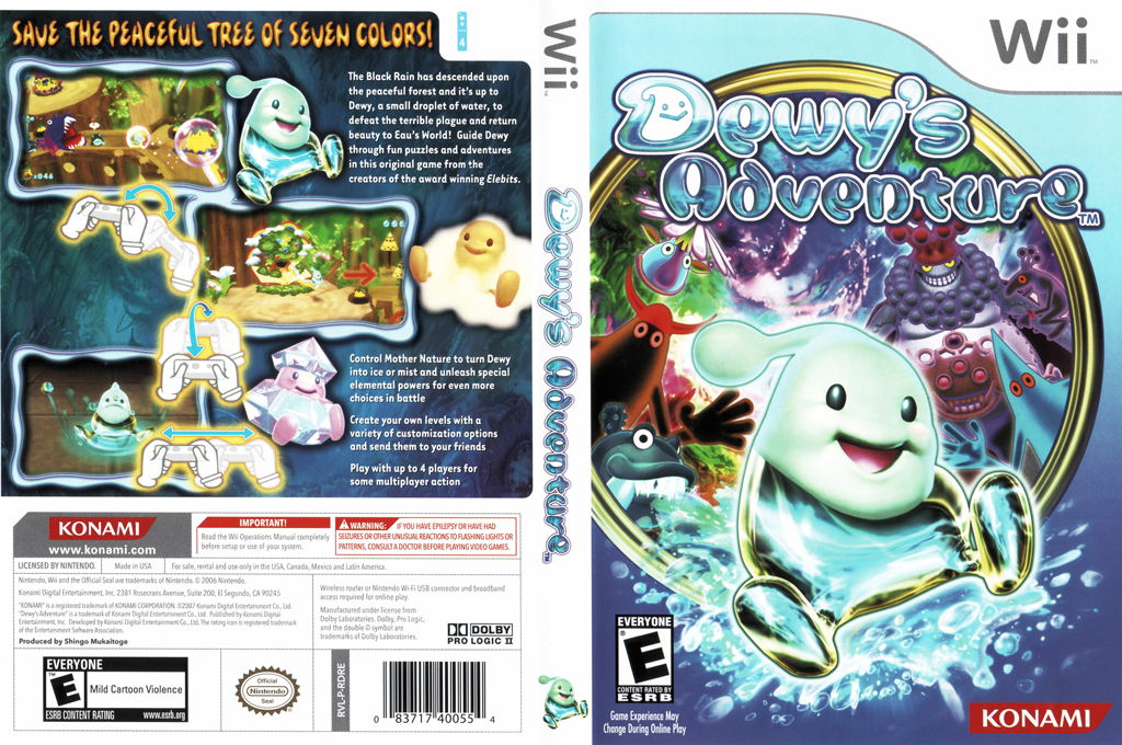 Dewy's Adventure Wii coverfullHQ (RDREA4)