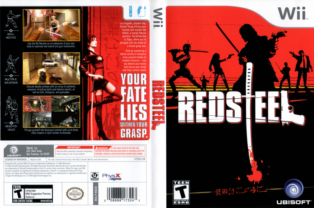 Red Steel Wii coverfullHQ (REDE41)