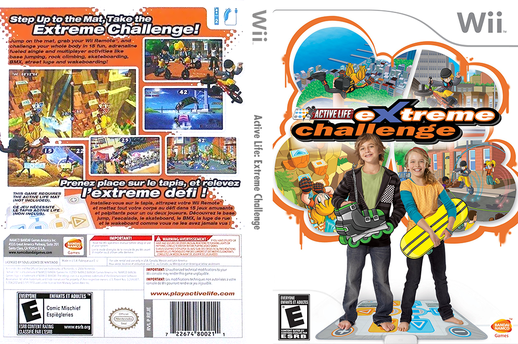 Active Life: Extreme Challenge Wii coverfullHQ (REJEAF)