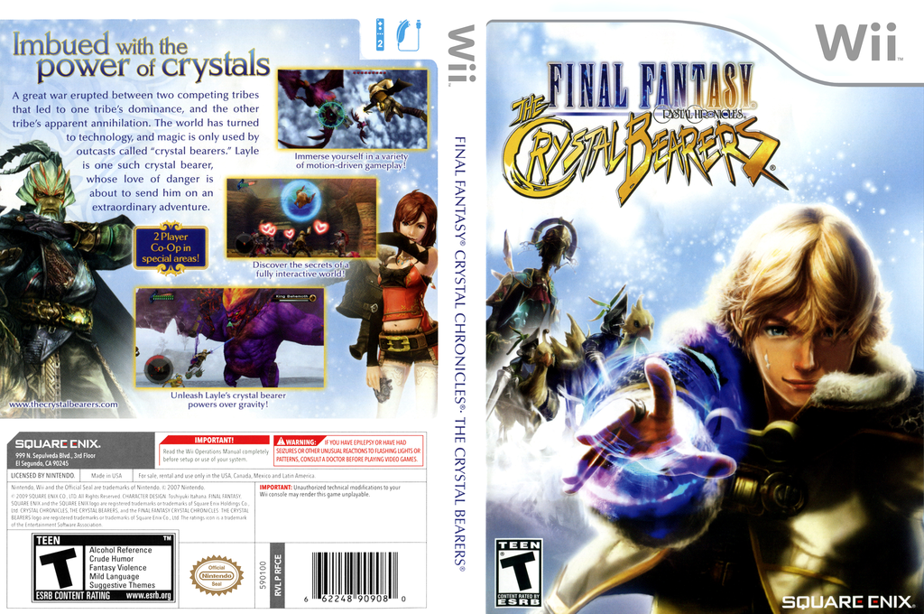 Final Fantasy Crystal Chronicles: The Crystal Bearers Wii coverfullHQ (RFCEGD)