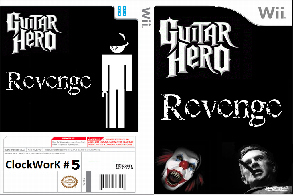 Guitar Hero III Custom : Revenge Wii coverfullHQ (RG1E52)