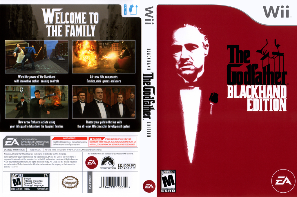 The Godfather: Blackhand Edition Wii coverfullHQ (RGFE69)