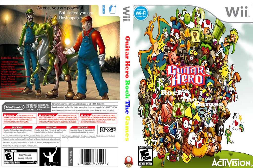 Guitar Hero III Custom :Rock The Games Wii coverfullHQ (RGGE52)