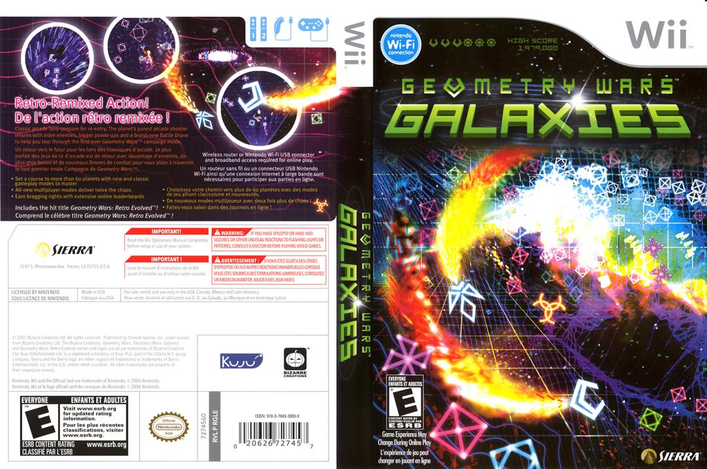 Geometry Wars: Galaxies Wii coverfullHQ (RGLE7D)