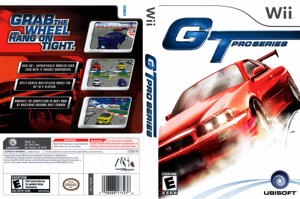 GT Pro Series Wii coverfullHQ (RGTE41)