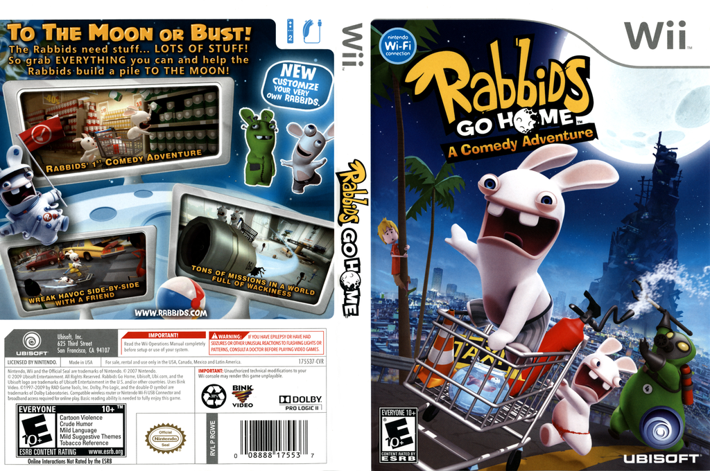 Rabbids Go Home Wii coverfullHQ (RGWE41)