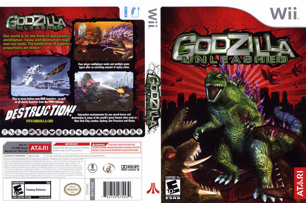 Godzilla Unleashed Wii coverfullHQ (RGZE70)
