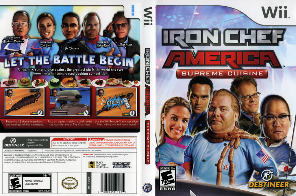 Iron Chef America: Supreme Cuisine Array coverfullHQ (RICENR)