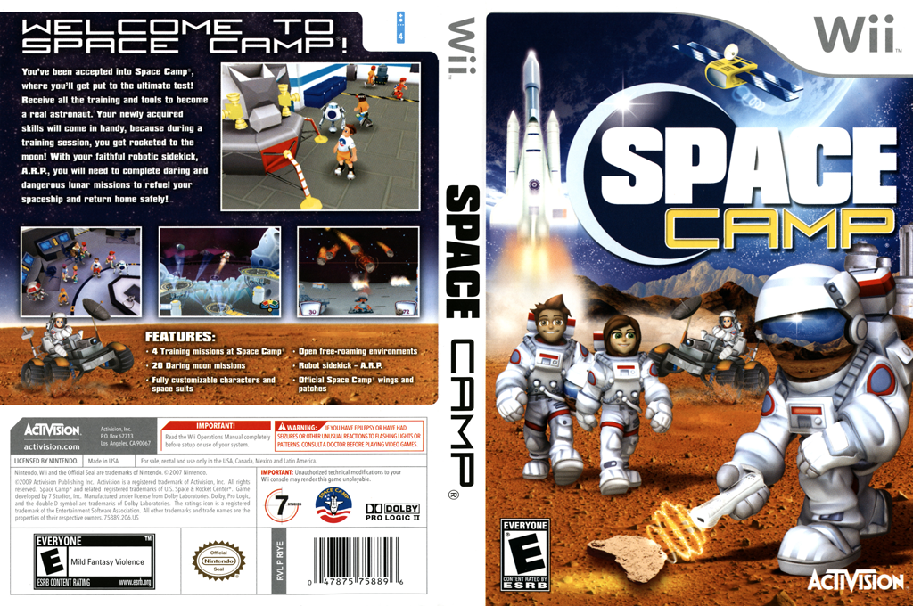 Space Camp Wii coverfullHQ (RIYE52)