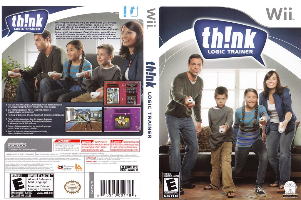 thinkSMART Family Wii coverfullHQ (RJ9E5Z)