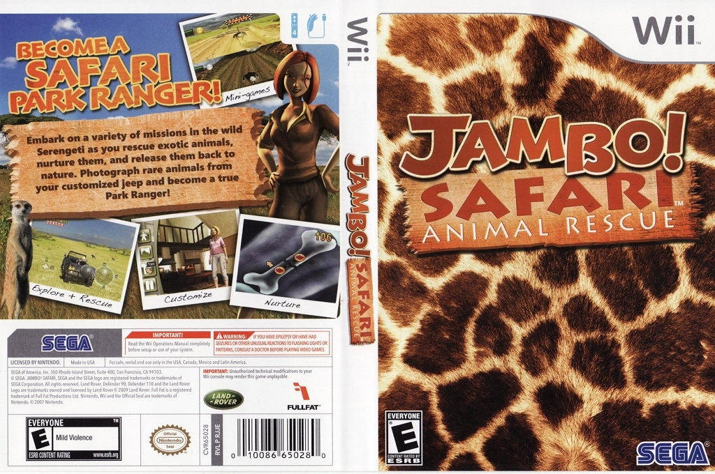 Jambo! Safari Animal Rescue Wii coverfullHQ (RJJE8P)