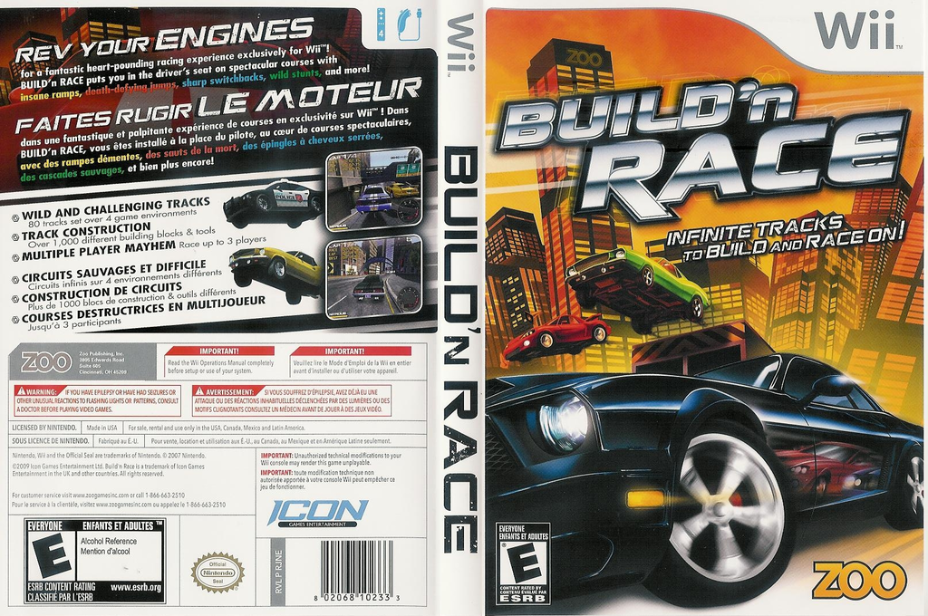 Build 'N Race Wii coverfullHQ (RJNE20)