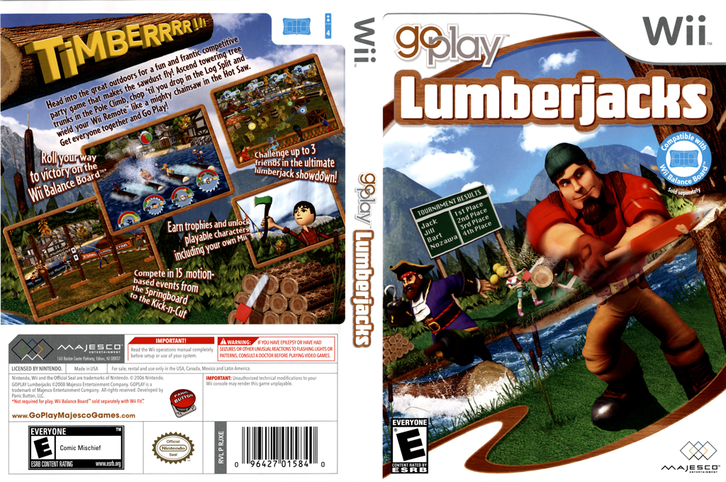 Go Play Lumberjacks Wii coverfullHQ (RJXE5G)